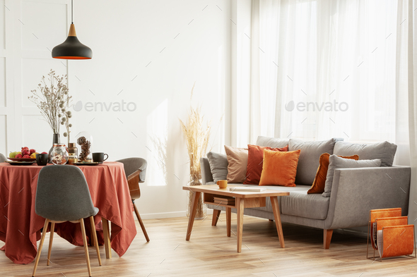 Open E Dining And Living Area With