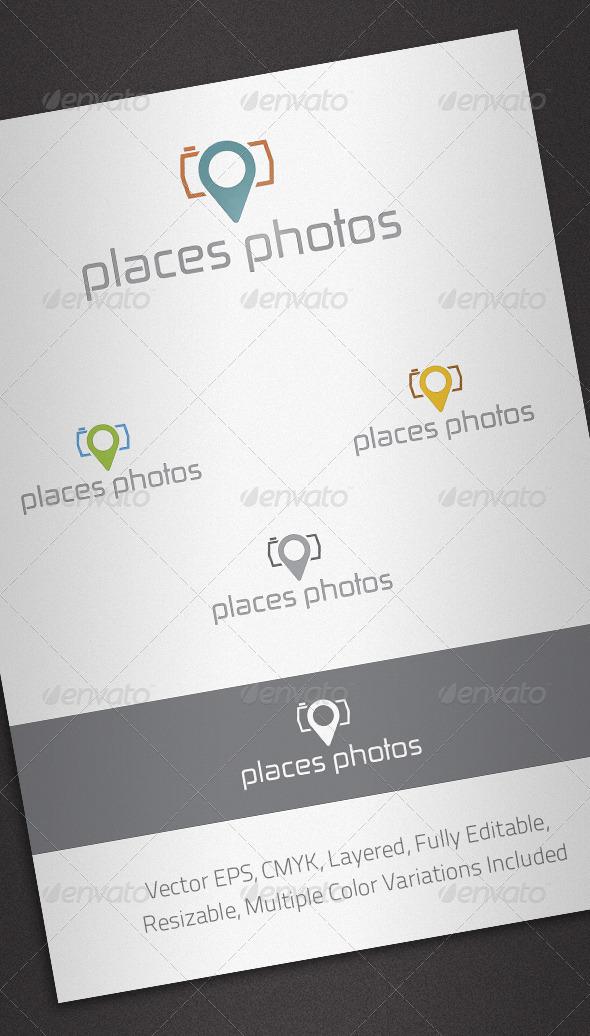 Places Photos Logo Template - Abstract Logo Templates