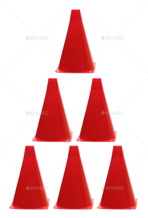Traffic Cones - Stock Photo - Images