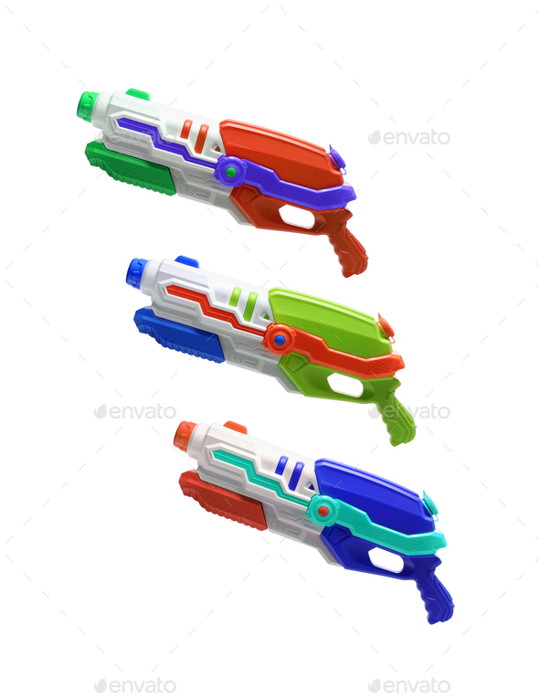 Water Guns - Stock Photo - Images