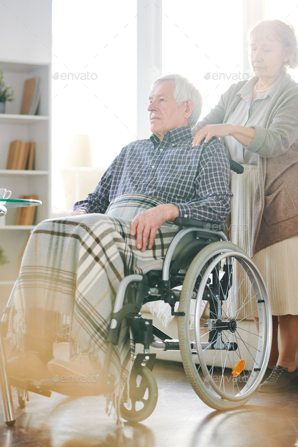 Couple of pensioners - Stock Photo - Images