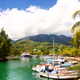 Marina in Seychelles - PhotoDune Item for Sale