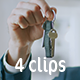 Collection of Buying a New Apartment from Real Estate Agent - Pack of 4 Clips  - VideoHive Item for Sale