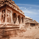Hindu Temple in Mahabalipuram. World Heritage in South India - PhotoDune Item for Sale