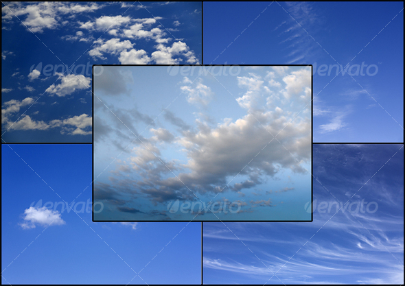 Sky backgrounds - Nature Textures