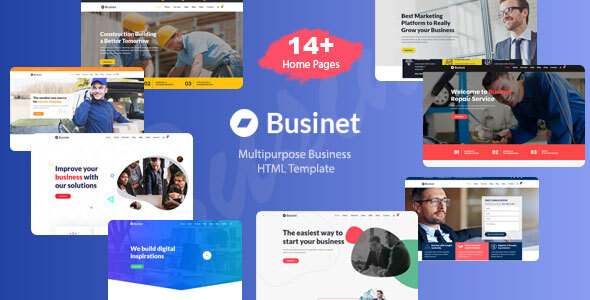 Excellent Businet - Business HTML Template