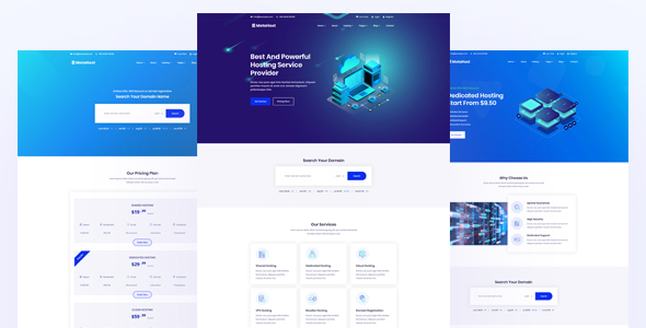 Metanic - Hosting HTML Template