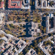 Top view of the road with cars, rooftops and the Spaso-Preobrazhensky Cathedral on a sunny day - PhotoDune Item for Sale