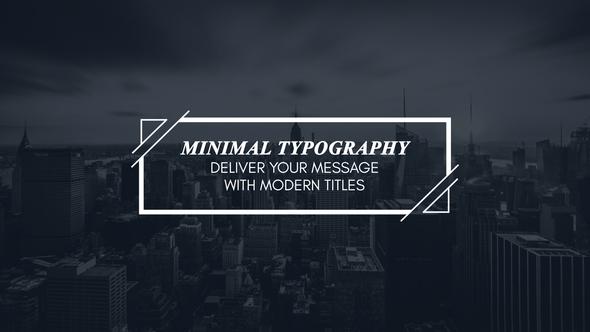 Minimal Modern Typography By Aliyarmikayilov Videohive