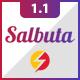 Salbuta Blog & Personal Responsive Blogger Theme