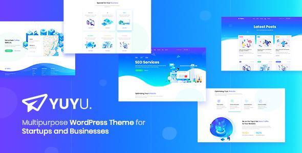 Yuyu - Digital SEO Agency WordPress Theme