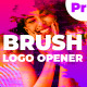 Brush Logo Opener - VideoHive Item for Sale