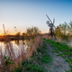 Sunset over Boardman's Drainage Mill - PhotoDune Item for Sale