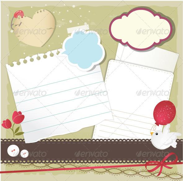 Scrapbook Elements  - Decorative Symbols Decorative