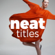 Neat Titles   Premiere Pro - VideoHive Item for Sale