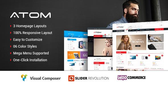 Atom - Responsive WooCommerce WordPress Theme