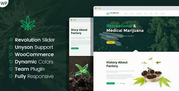 Medactive - Medical Cannabis WordPress Theme