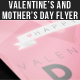Valentine's Day Flyer: Red Blush - GraphicRiver Item for Sale