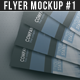 Flyer Mock-up (Version 1) - GraphicRiver Item for Sale