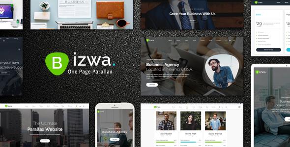 Bizwa - One Page Parallax