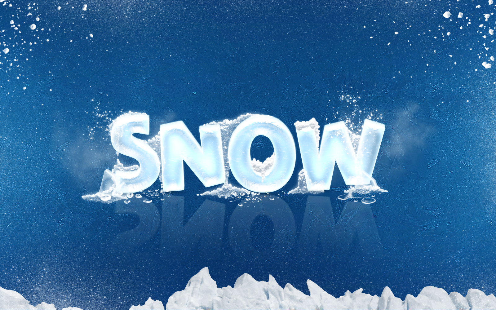 New 3D Ice Cool, Freeze & Snow Text Effects By Alifuwork