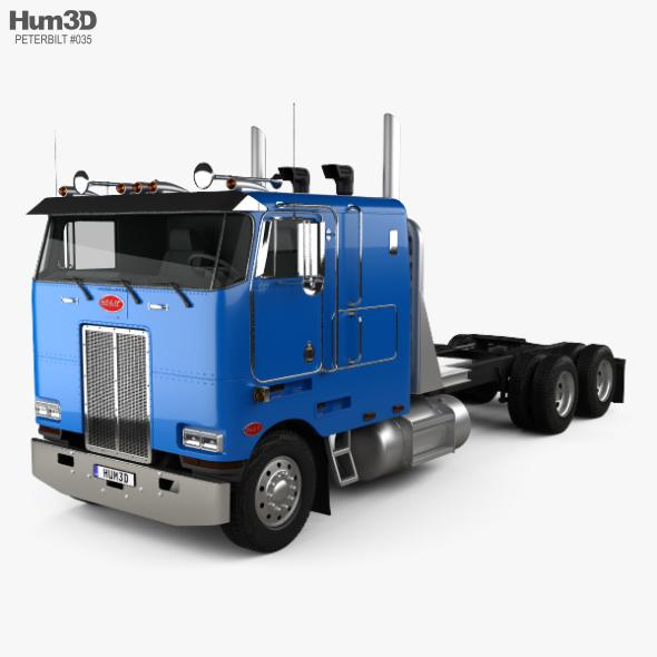 Peterbilt 362 Tractor Truck 2002