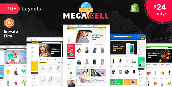 Mega Cell - Shopify Multi-Purpose Responsive Theme