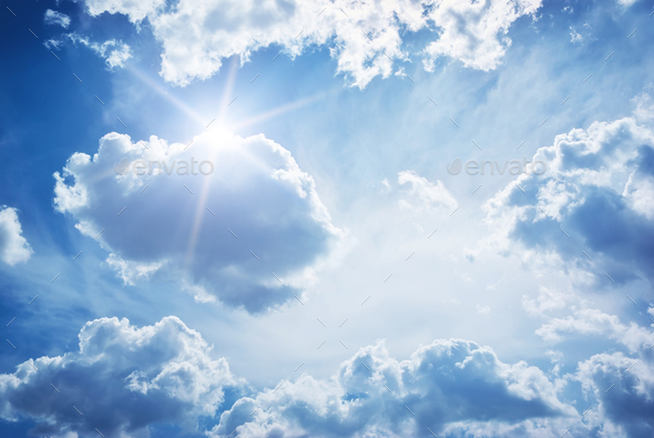 Sky clouds - Stock Photo - Images
