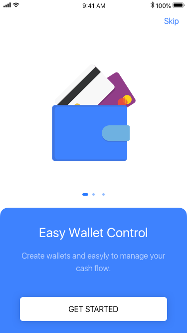 Finey - React Native Cash Manager Template