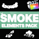 Cartoon Smoke Elements | Apple Motion - VideoHive Item for Sale