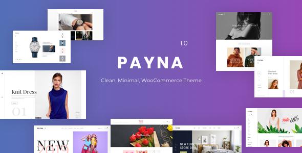 Payna - Clean, Minimal WooCommerce Theme