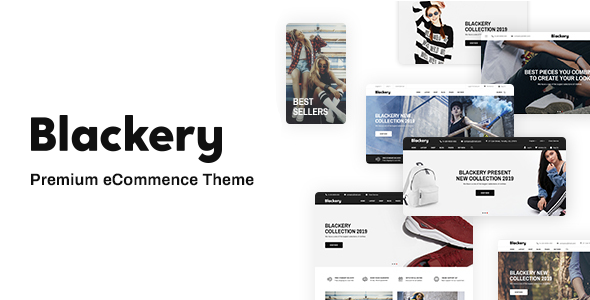 Blackery - Multipurpose Responsive Shopify Theme