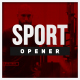 Sports Glitch Opener - VideoHive Item for Sale