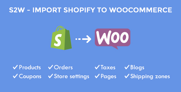 Import Shopify to WooCommerce
