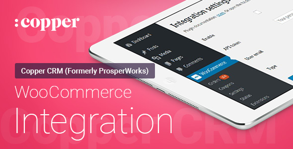WooCommerce - Copper CRM - Integration