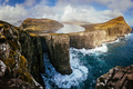 Traelanipan cliff, Faroe islands - PhotoDune Item for Sale