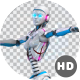 Sexy Robot Belly Dancing With Alpha Channel - VideoHive Item for Sale