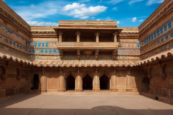 Man Singh Palace, India - Stock Photo - Images