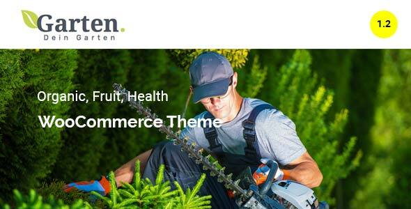 Garten Farmer Woocommerce Theme 7uptheme