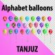 Alphabet Balloons (Greeting/ Birthday/ Anniversary) - VideoHive Item for Sale