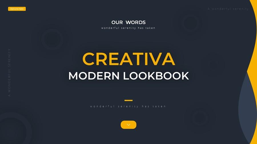 Creativa Modern Lookbook Powerpoint
