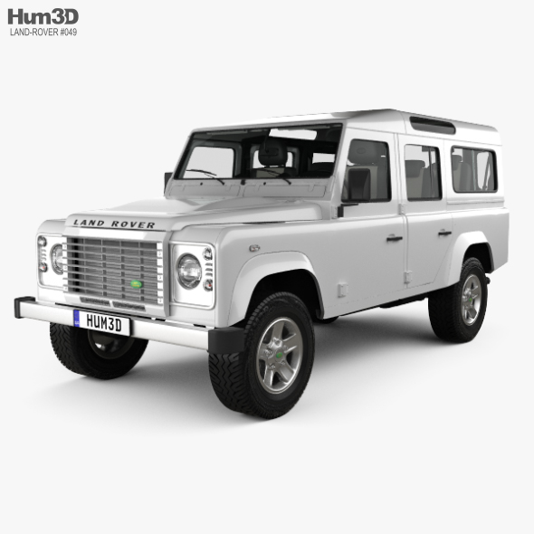 Land Rover Defender 110 Station Wagon with HQ interior 2011