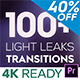 4K Light Leaks Transitions | For Premiere Pro - VideoHive Item for Sale