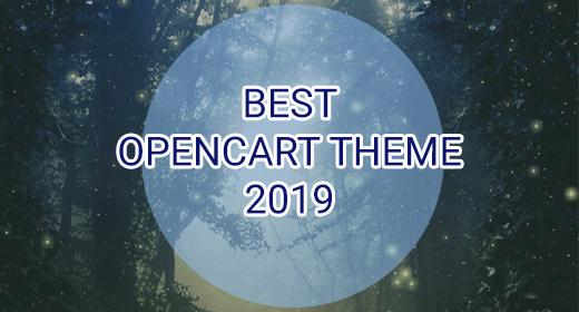Best OpenCart Theme 2019