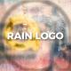 Rain Drops Logo - VideoHive Item for Sale