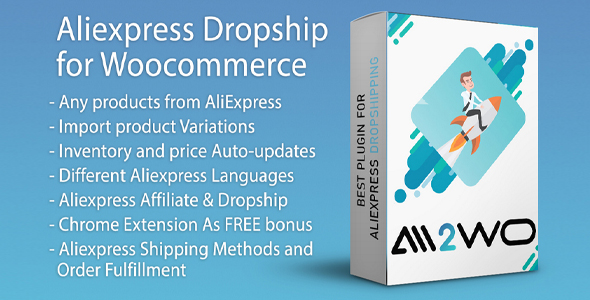 AliExpress Dropshipping Business plugin for WooCommerce Nulled