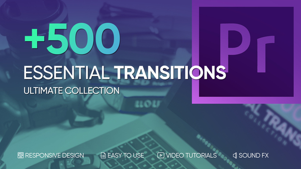500+ Seamless Transitions for Premiere Pro