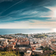 Terracina, Italy. Top View Of Terracina And Tyrrhenian Sea In Su - PhotoDune Item for Sale