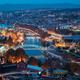 Tbilisi, Georgia. Aerial View Of Justice House, Bridge Of Peace, - PhotoDune Item for Sale