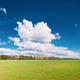 Countryside Rural Field Or Meadow Landscape With Green Grass On - PhotoDune Item for Sale